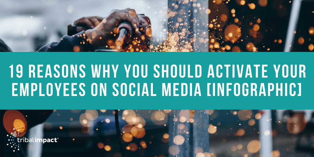 19 Reasons Why You Should Activate Your Employees On Social Media [Infographic]