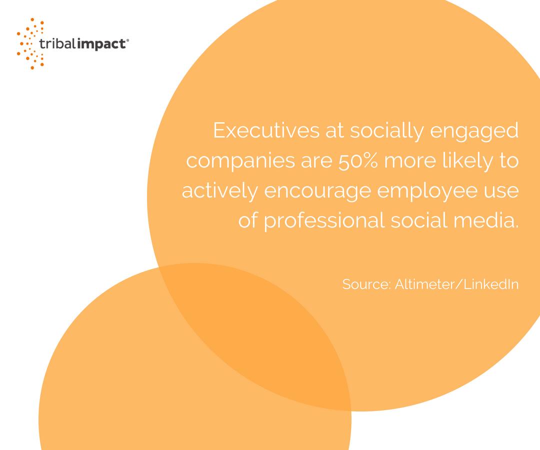 7 Practical Ways To Get Your Execs Using Social Media.