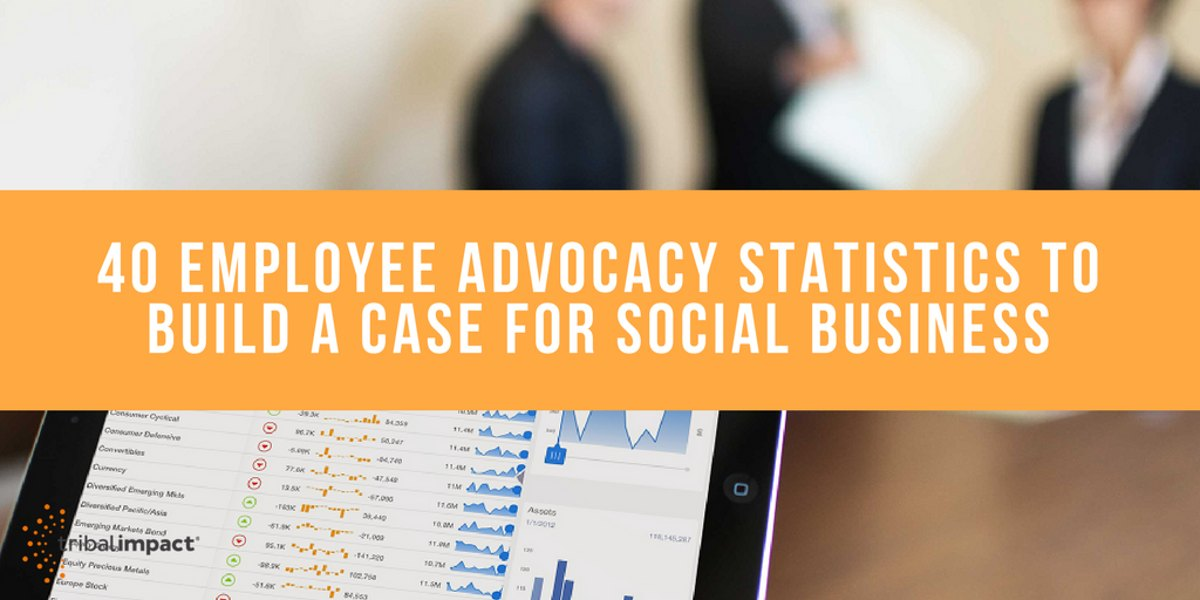 40 Employee Advoccy Statistics To Build A Case For Social Business