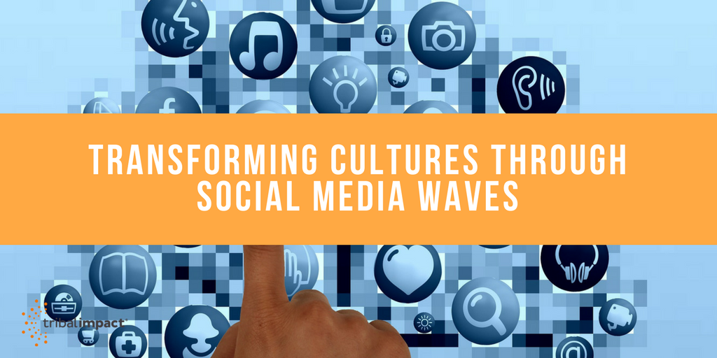 Transforming Through Social Media Waves