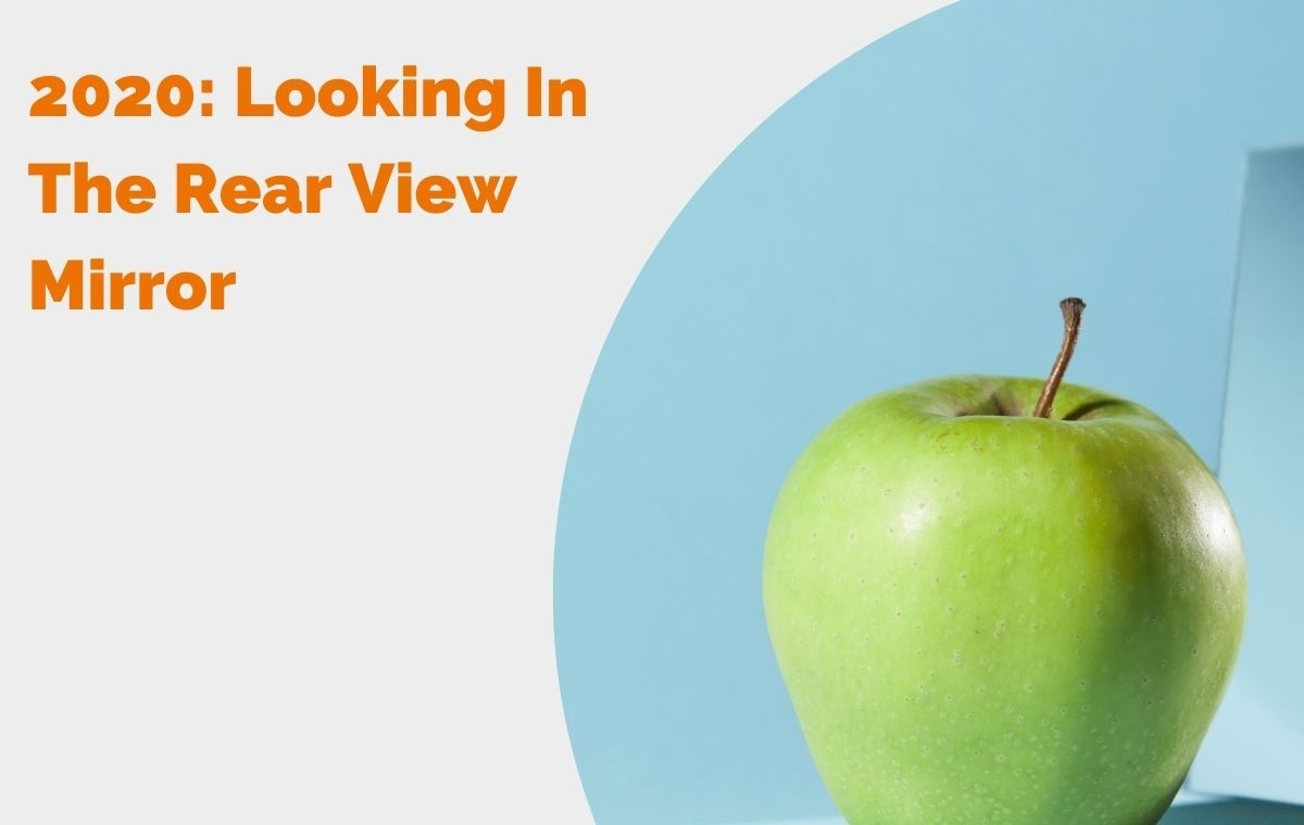 2020 Looking In The Rear View Mirror blog header
