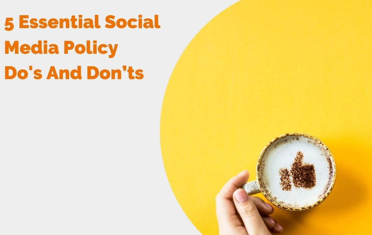 5 Essential Social Media Policy Dos And Don'ts header image