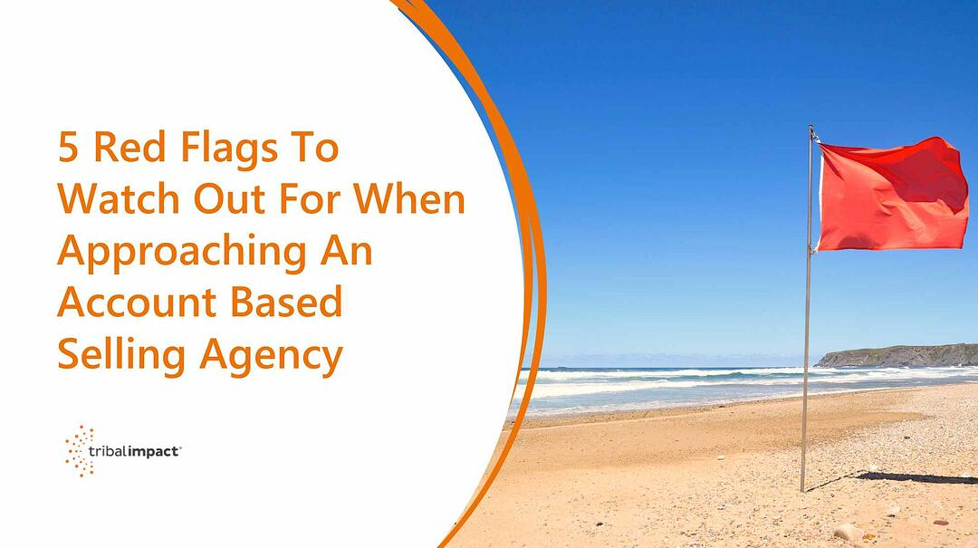 5 Red Flags To Watch Out For When Approaching An Account Based Selling Agency