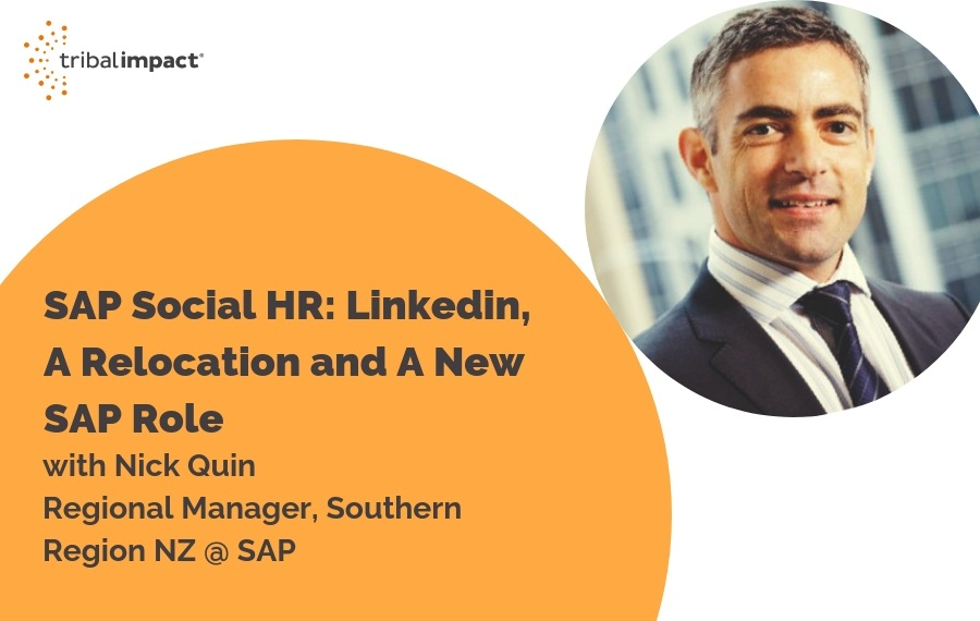 SAP Social HR: Linkedin, A Relocation And A New SAP Role