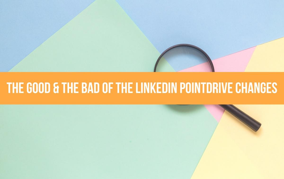 linkedin pointdrive changes