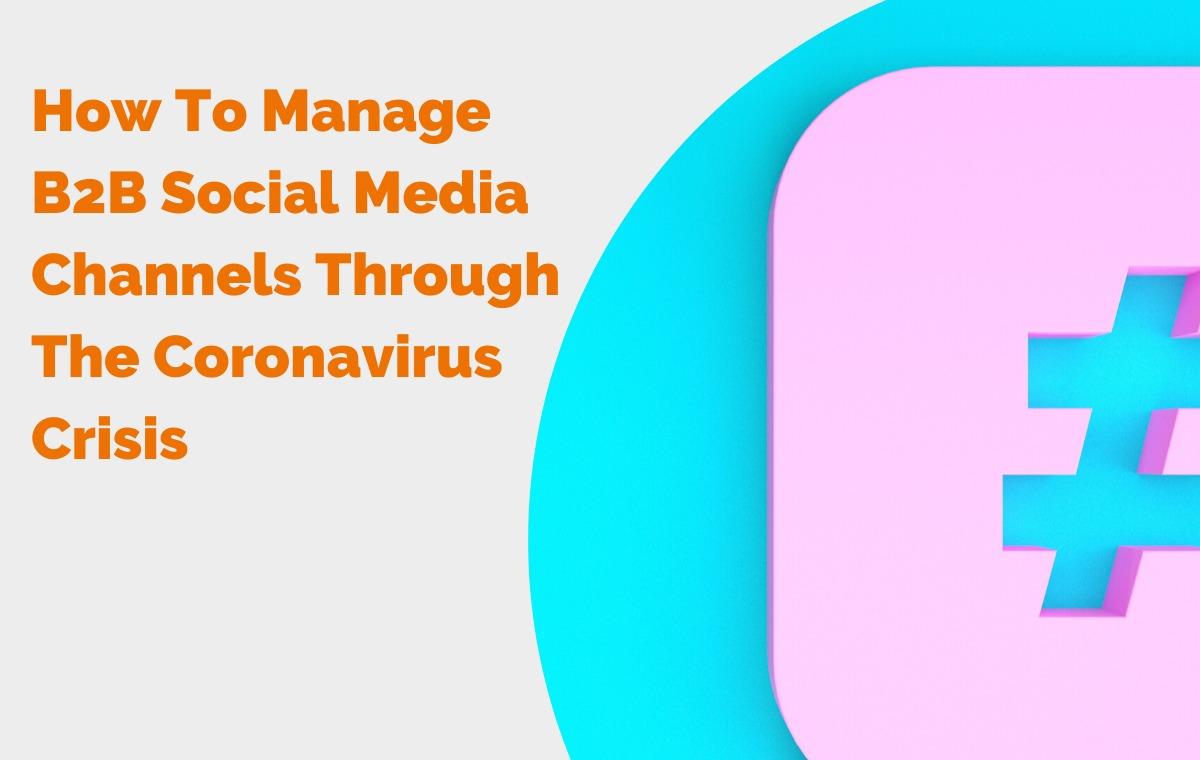 managing b2b social media blog