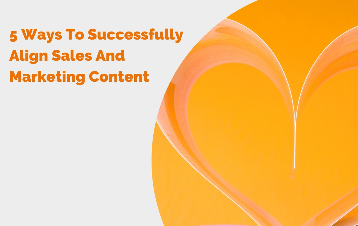 sales and marketing content alignment blog header