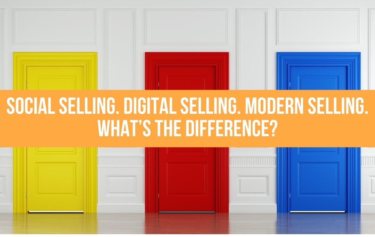 social digital modern selling