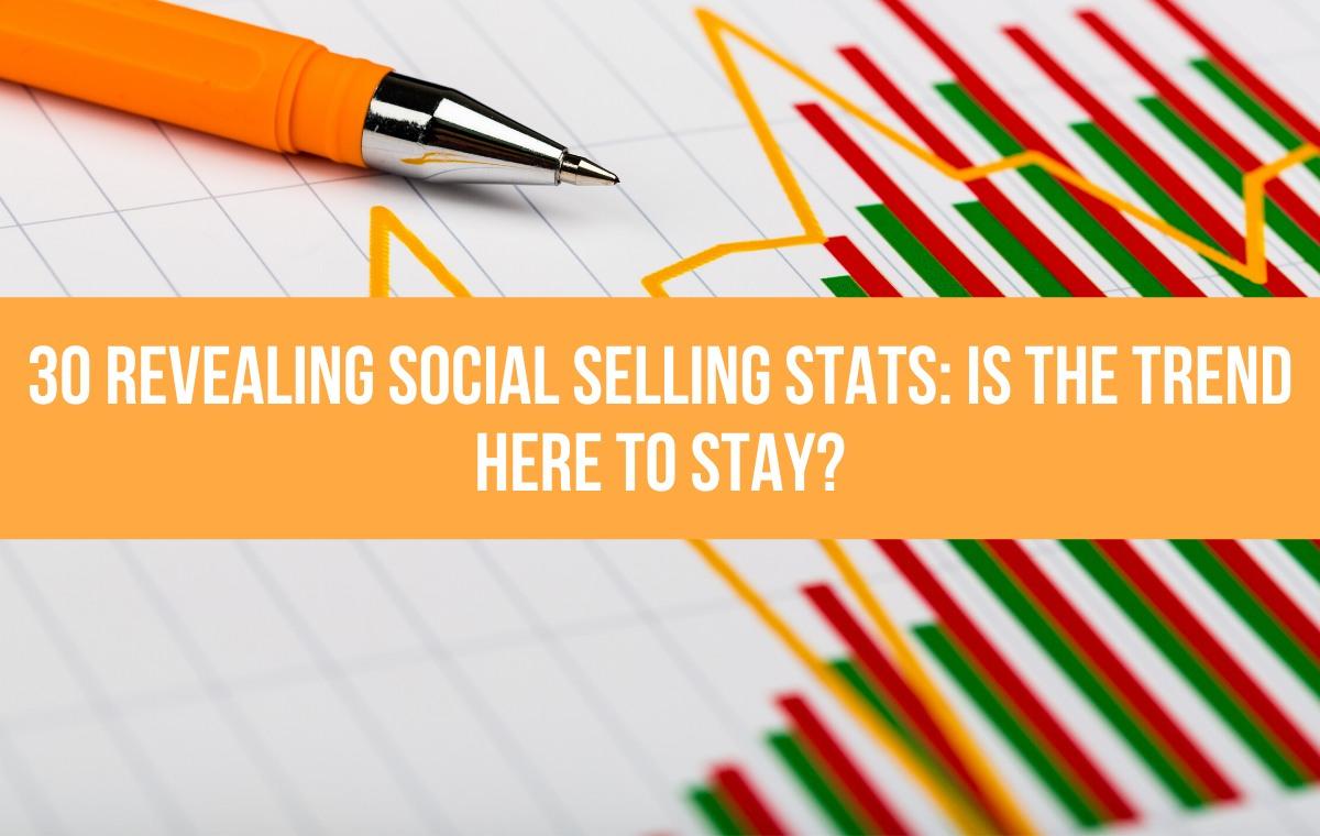 social selling stats header