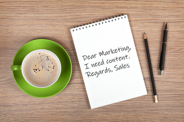 sales and marketing content alignment