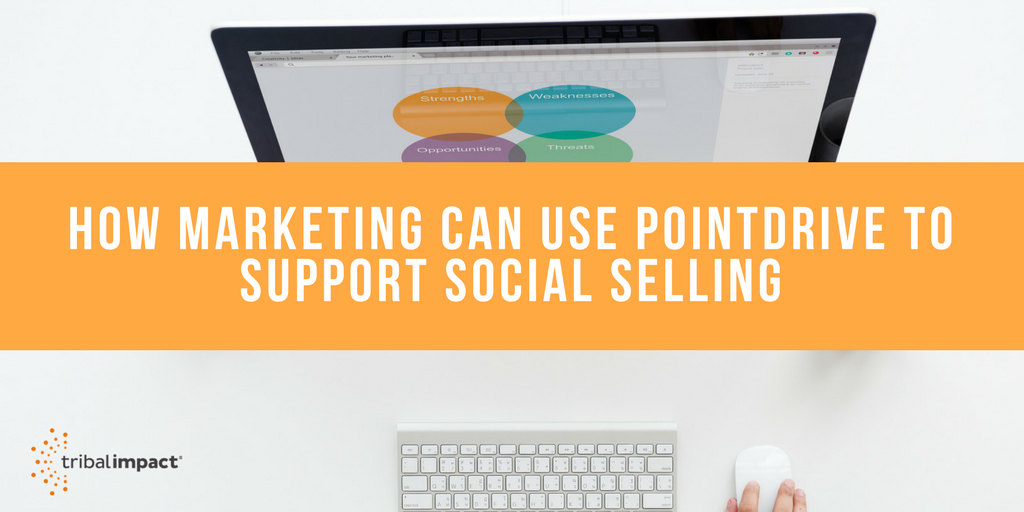 How Marketing Can Use PointDrive To Support Social Selling