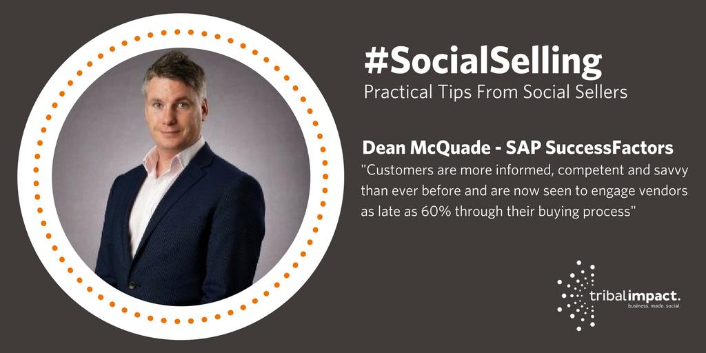 Social Selling Dean McQuade