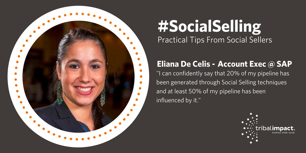 Eliana Social Selling Banner