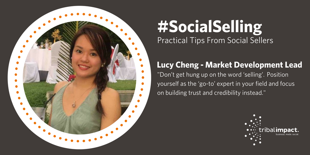 Lucy Cheng Social Selling