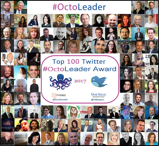 2017 Social Business Practitioners On Twitter #OctoLeader