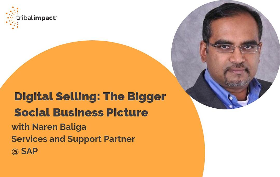 Digital Selling: The Bigger Social Business Picture, with Naren Baliga SAP