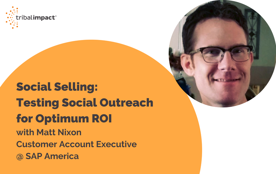 Social Selling: Testing Social Outreach for Optimum ROI with Matt Nixon