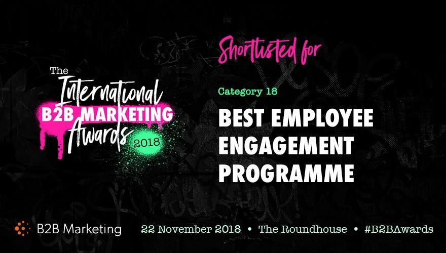 Social Advocacy Finalist At The B2B Marketing Awards #B2BAwards