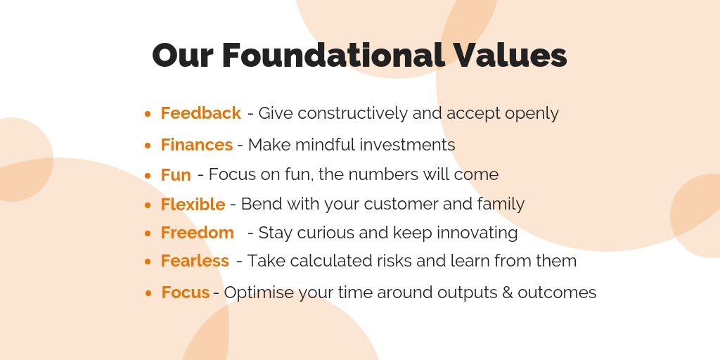 Tribal Foundational Values