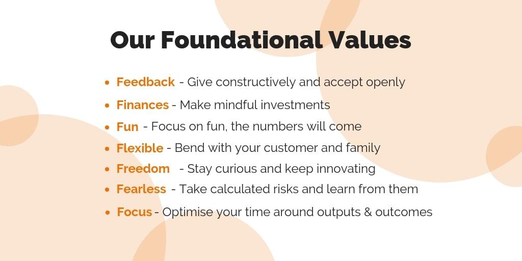 Tribal Foundational Values