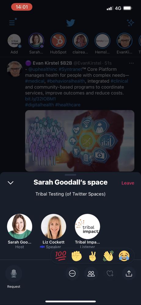 Twitter Spaces - Audio Social Media 2