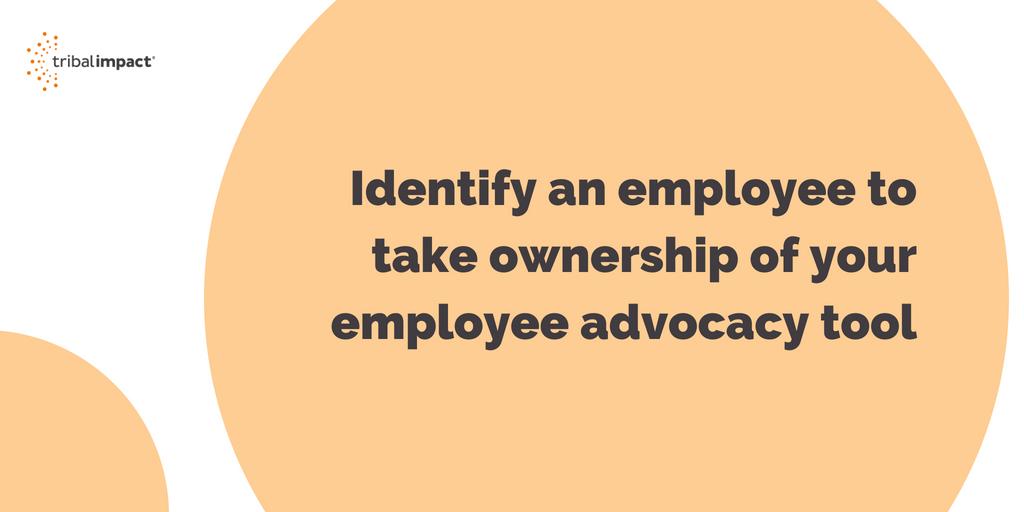 employee advocacy tool admin