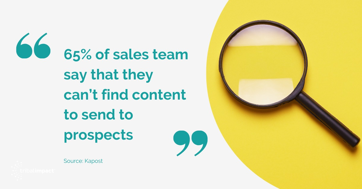 5 Ways To Successfully Align Sales And Marketing Content quote 2
