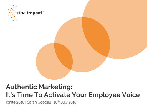 Ignite 2018 Authentic Marketing