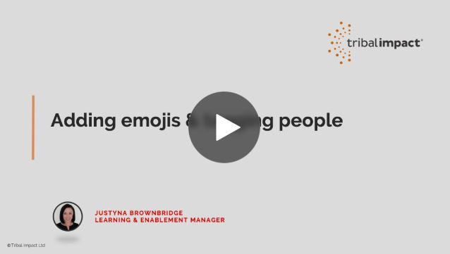adding emojis to linkedin