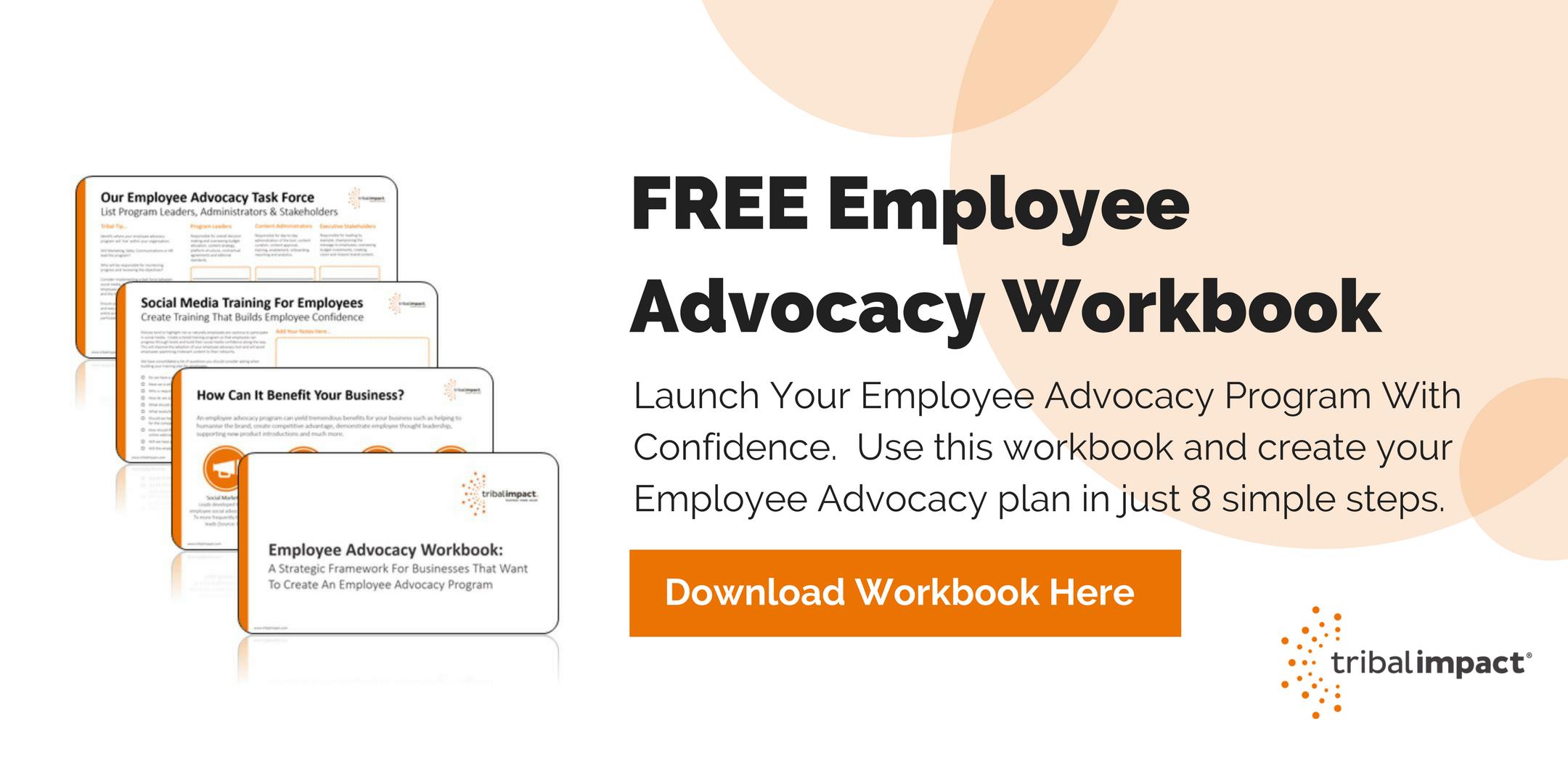 Download Employee Advocacy Workbook