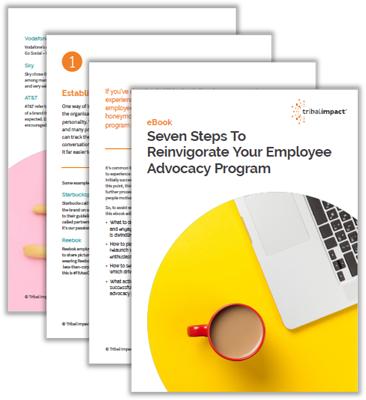 eBook reinvigorating employee advocacy program