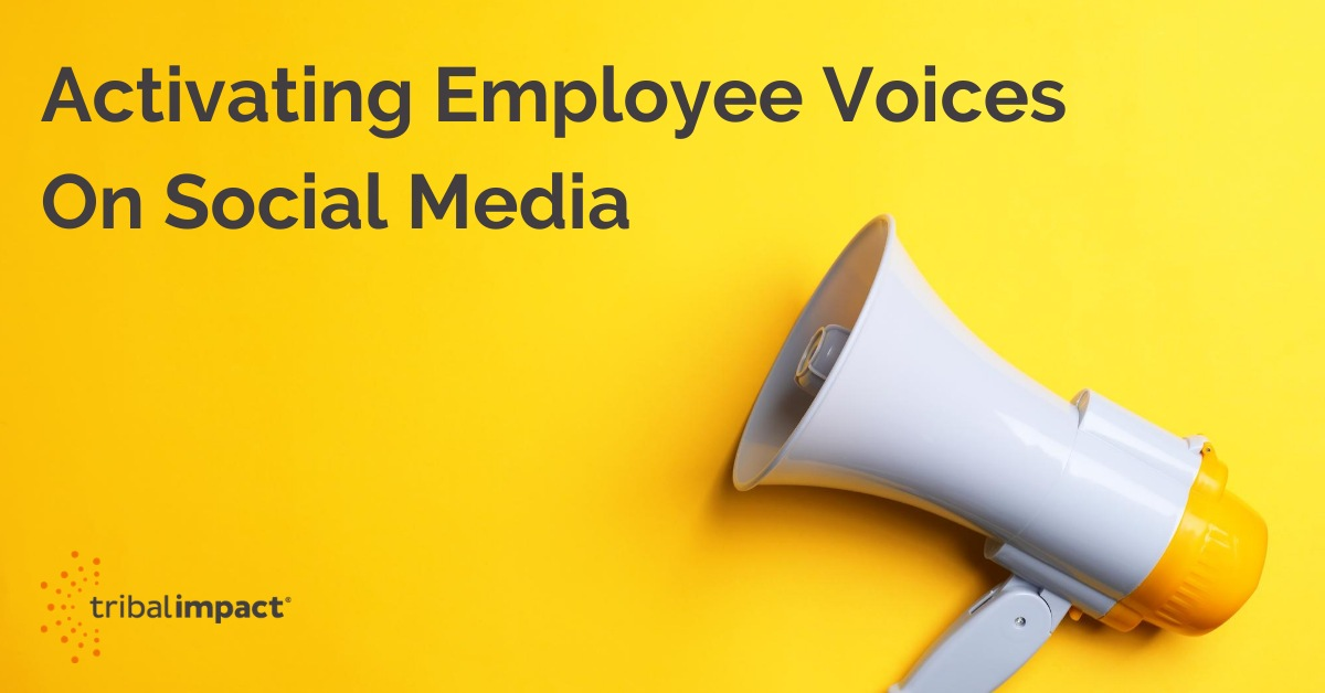 Learning and development Activating Employee Voices On Social Media