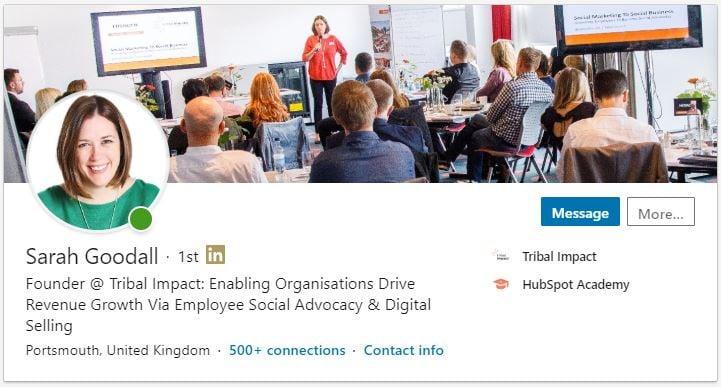 optimised-linkedin-profile-sarah-goodall