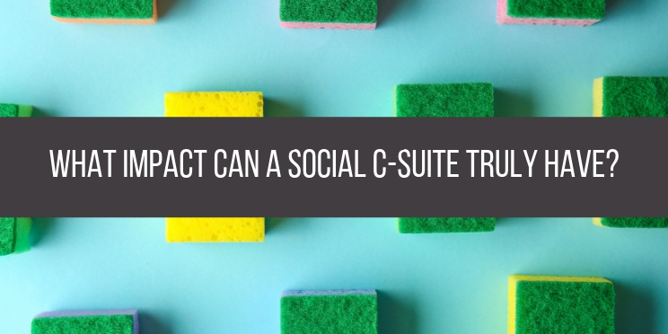 what impact can c suite truly have