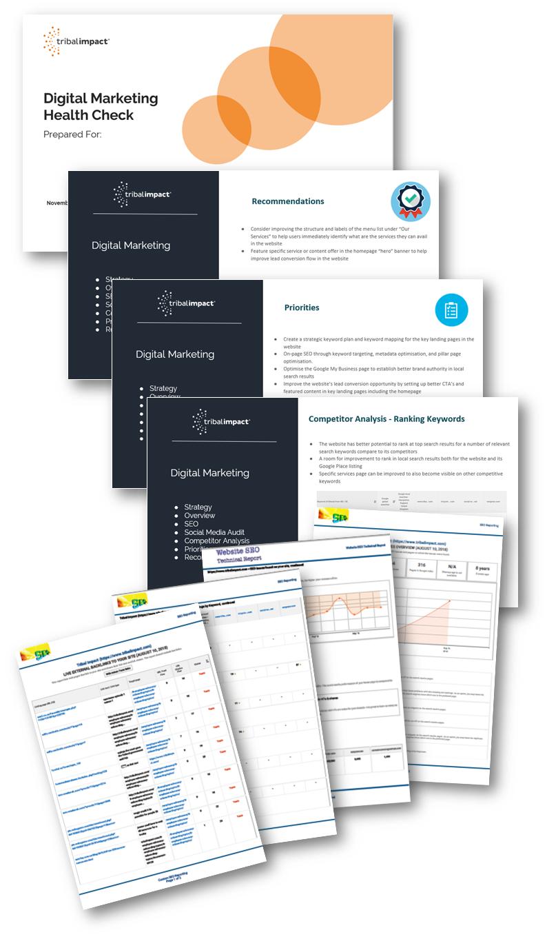 Digital Marketing Health Check Audit