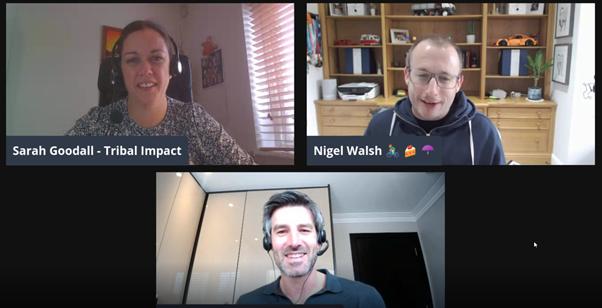 LinkedIn Live Nigel Walsh
