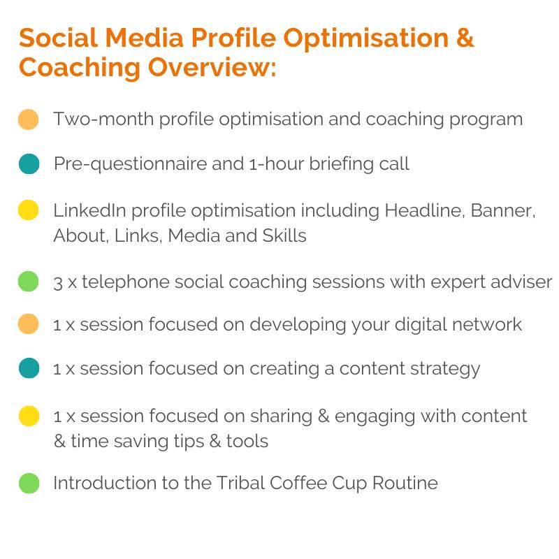 social media profile optimisation