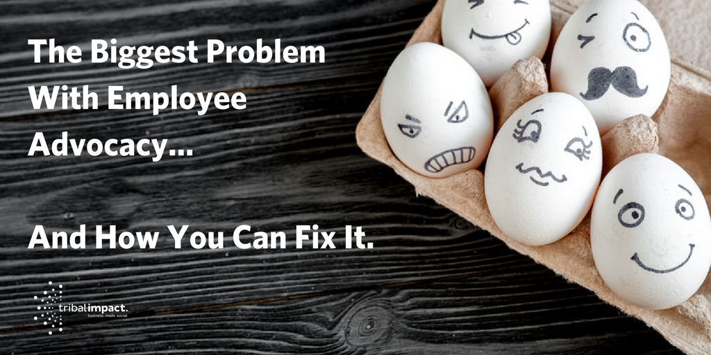 eggs with different faces depicting the differences between employees