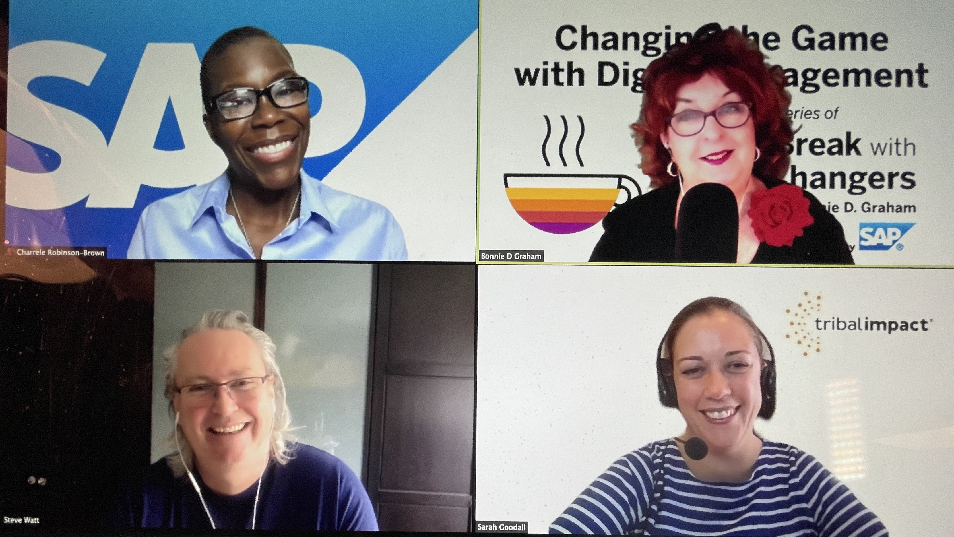 Changing the Game with Digital Engagement Radio - LIVE May 11, 2021