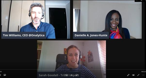 LinkedIn Live image Employee Advocacy - Danielle A. Jones-Hunte